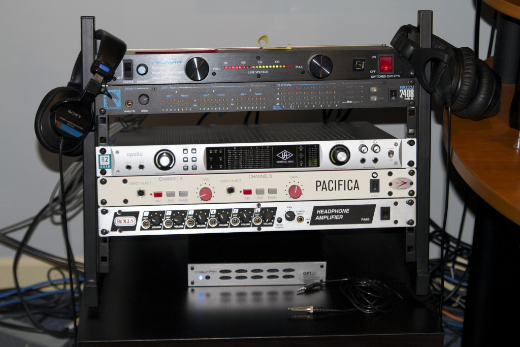 Preamps and AD - A Designs Pacifica and Universal Audio Apollo Quad